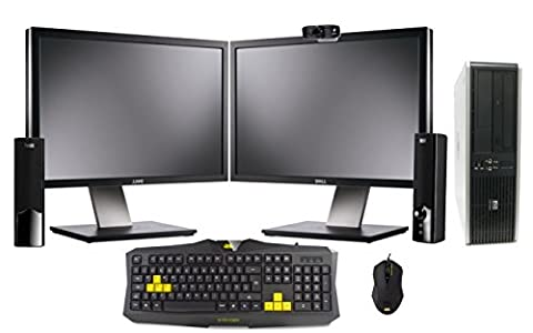 Professionally Refurbished Gaming PC with Dual 19