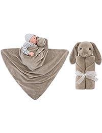 GudeHome Gigoteuse Bébé Nid d'ange Sac de Couchage Couverture Emmailloter 0-3 serviette de bain serviette de bain serviette de bain à capuche Wrap Couverture en flanelle Ultra Doux pour une pièce sleepswear Peignoirs Peignoirs