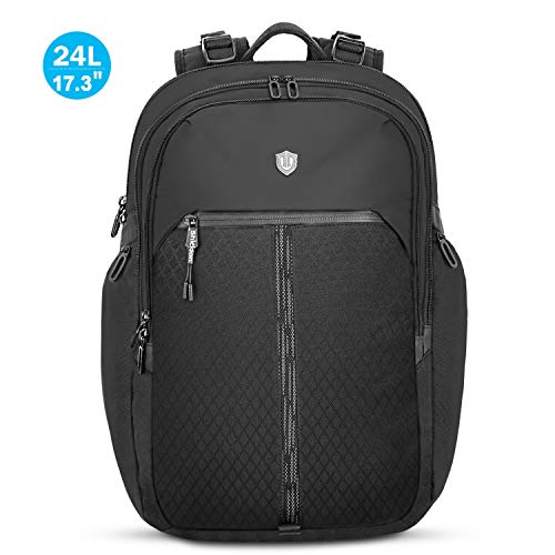 SHIELDON Rucksack Laptop 17,3 Zoll, Rücksack Herren, Daypack für MacBook, Reiserucksack Wasserdicht Backpack, Wärmeableitung, Leichte Rucksäcke 24 Lite für Reise Business, (Männer) -