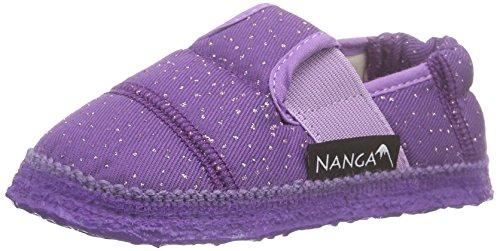 Nanga Glamour, Chaussons courts, non doublées fille Violet - Violett (42)