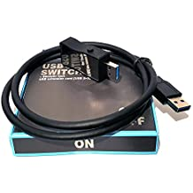 Interruttore USB On / Off Switch con Cavo - USB