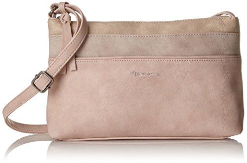 Tamaris Damen Khema Crossbody Bag S Umhängetasche, Pink (Rose Comb.), 6,5x17x27 cm