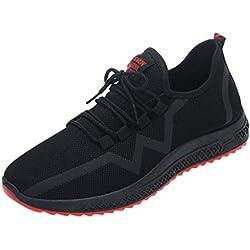 Zapatillas De Malla Transpirables para Hombres Zapatillas Antideslizantes Zapatillas De Deporte De Moda