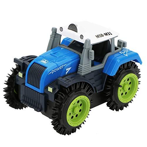 DingLong Kinder 4 Rad Antrieb Jeep Eektrische Stunt Spielzeugauto 10,5 x 7 x 8 cm ()