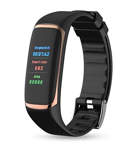 OPAKY P9-Armband Blutdruckmessgerät Blutsauerstoff-Herzfrequenzmonitor für Kinder, Damen, Männer