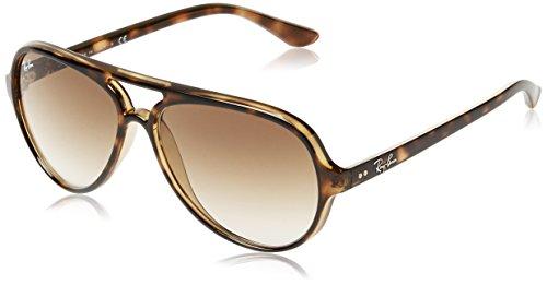 Ray-Ban Aviator Sunglasses (Crystal Green) (RB4125|60159)