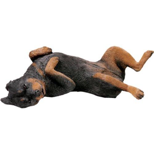 Sandicast Life Größe Rottweiler Skulptur, Original Size