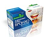 Broncho Herbal Tea Mix | 20 Bags Thyme Tea Salvia Leaves Oregano Herb Medical Marshmallow Eucalyptus Elderflower Liquorice Roots Anti-Inflammatory Antimicrobial for Respiratory Tract Bagged 50g