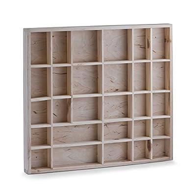 Zeller 12116 Souvenir Shelf 45 x 3.5 x 40 cm Pine Natural - inexpensive UK light shop.