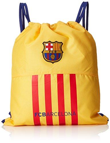 Safta Barça-2 Bolsa Escolar, Color Amarillo