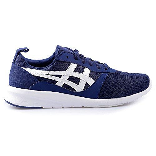 ASICS Hommes Indigo Bleu/Blanc Lyte Jogger Basket Blue/White