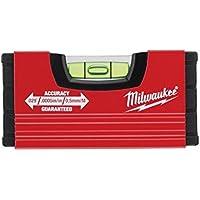 Milwaukee 4932459100 Wasserwaage Mini 10 cm, Red