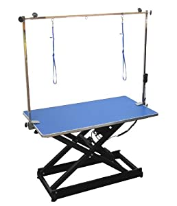Emperor Hydraulic Grooming Table with H-Frame