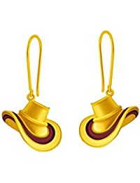 P.C. Chandra Jewellers 14KT Yellow Gold Clip-On Earrings For Women