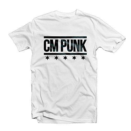 cm-punk-t-shirt-1541-ufc-debut-fight-night-mma-mix-martial-art-octagon-cage-wwe-wrestling-superstar-