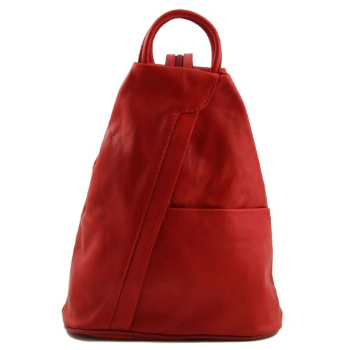 Tuscany Leather - Sac à dos cuir - Rouge
