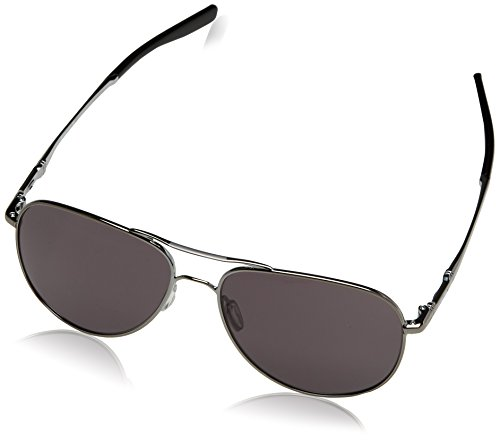 Oakley Unisex-Erwachsene Elmont M & L OO4119 Sonnenbrille, Grau (Gunmetal), 0