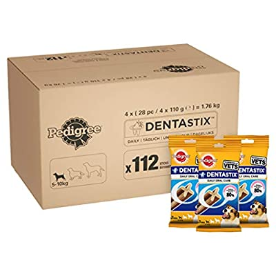 Pedigree DentaStix Daily Dental Chews Dog, 112 Sticks