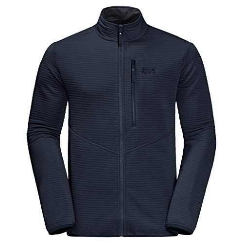 Jack Wolfskin Herren Modesto Fleecejacke, Night Blue, L