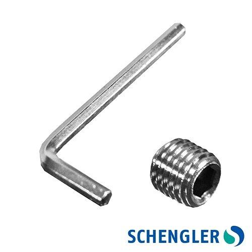 Schengler Edelstahl Arbeitstisch 1800×600 mm