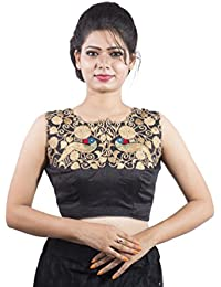 90dd2c451c4701 Amazon.in  Intrigue. - Blouses   Ethnic Wear  Clothing   Accessories