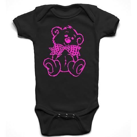 'Orsetto' Cute Baby Girl pagliaccetto tutina pigiama abbigliamento