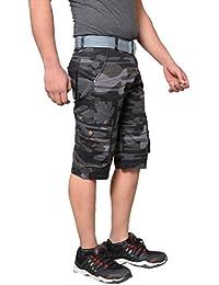 Krystle Boy's 6 Pocket Cotton Stylish Army Shorts