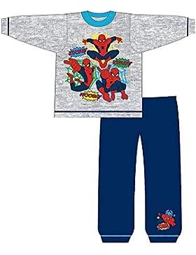 Spiderman - Pijama Infantil de Manga Larga con diseño