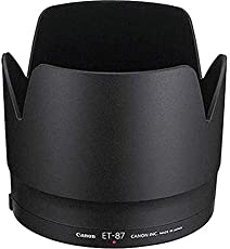 Professional Lens Hood for Canon 70-200mm 2.8 L is II USM Lens Black, Replaces Canon ET-87