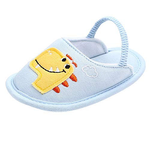 Vovotrade  Scarpette Infantili Cartoon Animali Prima Walker Toddler Shoes Indoor Pantofole Calde all'aperto