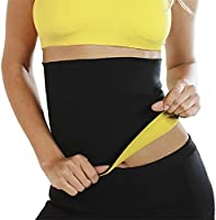 DAZIBAO® Shaper Belt Non-Tearable Tummy Trimmer Slimming Belt for Men and Women (Size M, L, XL, XXL, 3XL, 4XL) (Black)