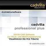 cadvilla professional plus, Architektur 2D/3D CAD Software / Programm