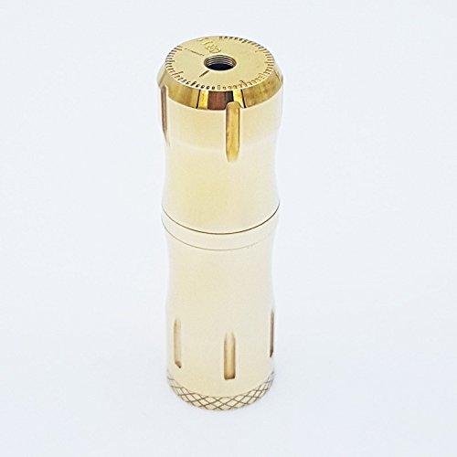 Vaperz Cloud - Tubo meccanico 11:11 Competition Mod per sigaretta elettronica, spessore 28 mm, contatti in rame placcato argento (Ottone)