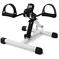 AFH-Webshop Mini-Bike | Armtrainer und Beintrainer | Heimtrainer | Pedaltrainer mit Pedometer Display