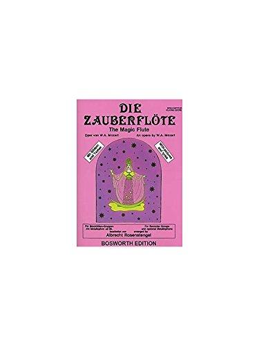 Die Zauberflöte. Partitions pour Flûte à Bec(Quatuor), Métallophone