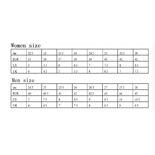 PENGFEI Stivaletti Scarpe Da Ginnastica Primavera E Autunno Sport Per Il Tempo Libero Alpinismo Soled Spesso Da Donna 2 Colori ( Colore : Bianca , dimensioni : EU36/UK4/L:230mm ) Nero