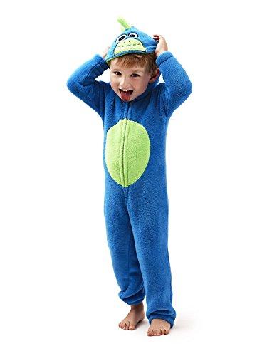 Nifty Kids Novelty Animal All In One Fleece Luxury Sleepsuit