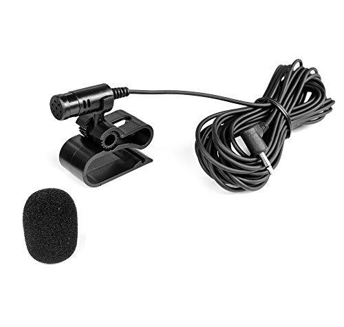Mikrofon 2,5mm Klinke + Windschutz für PIONIEER AVIC AVH DEH - BLAUPUNKT Toronto, Hamburg