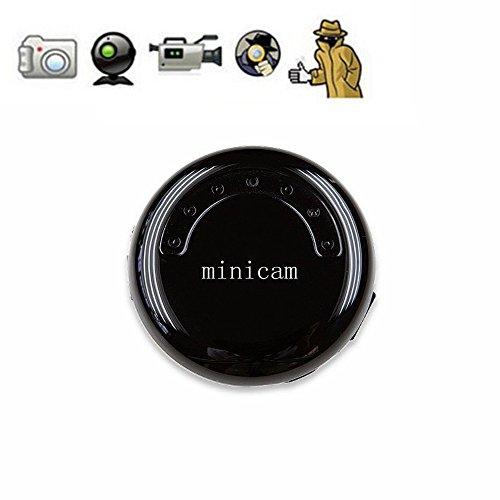 Joycam mini videocamera da videoregistrazione indossabile hd 720p fotocamerarotonda per gli sport interni ed esterni