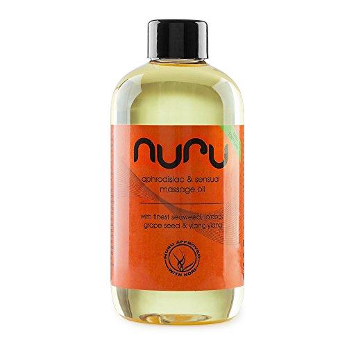 NUOVO - Nuru olio 250ml - olio da massaggio con afrodisiaco