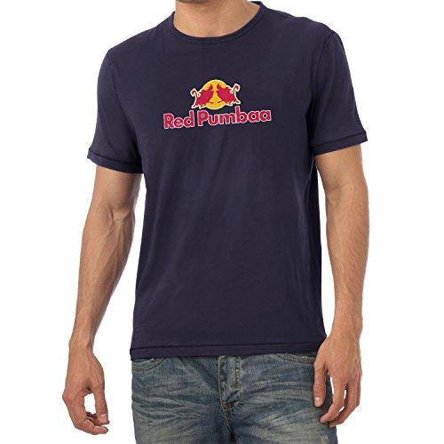 Texlab Red Pumbaa - Herren T-Shirt, Größe L, Navy