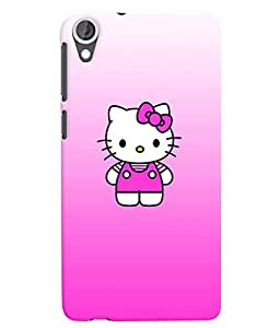 Citydreamz Hello Kitty/Cute Cartoon/Pink Hard Polycarbonate Designer Back Case Cover For HTC Desire 628/ HTC Desire 628 Dual Sim