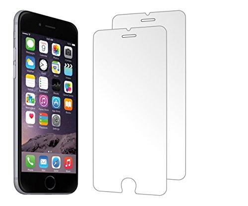 2 Pack Protecteur d'écran zenmo de qualité supérieure, en verre trempé pour iPhone 6s/6 (4,7 pouces), compatible 3D Touch