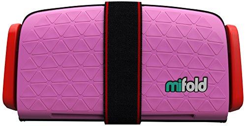 mifold MF01-DE/PNK Grab-and-Go Booster, Kindersitz, perfect pink