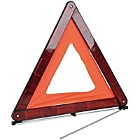 Simply SWT1Foldable Warning Triangle, Complied with ECE R27 European Standards, Convenient Carry Box, Highly reflective Design Clearly Alert