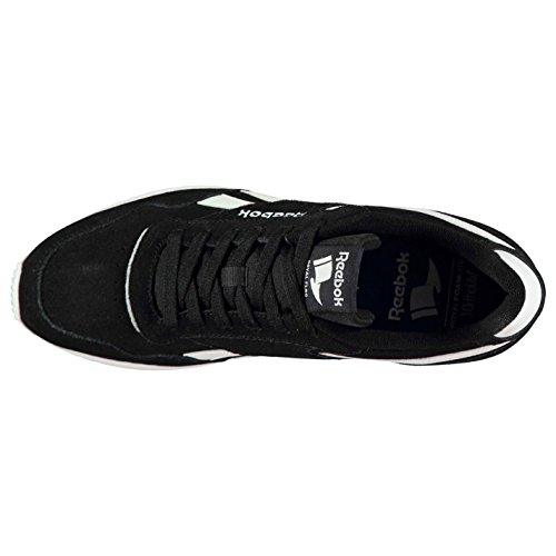 e7e288516b88a gris Daim Sport Ripple Noir Reebok À Cuir Glide Baskets Chaussures Lacets  Hommes blanc Fq1Z7cT