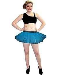 Neon UV Large Plus Size Tutu Skirt [Apparel]