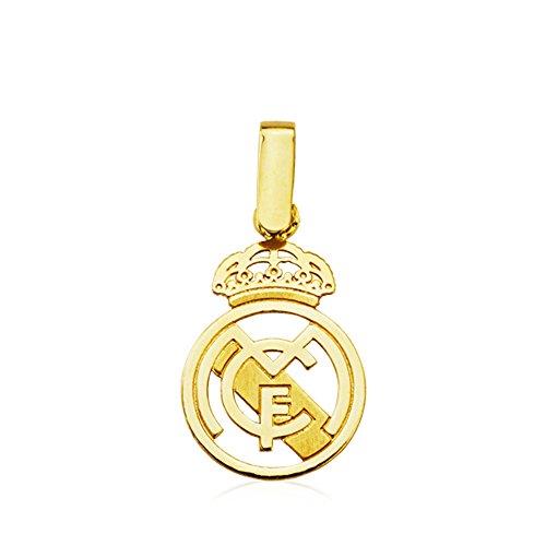 Colgante Escudo Real Madrid (Producto Oficial) oro segunda mano  Se entrega en toda España