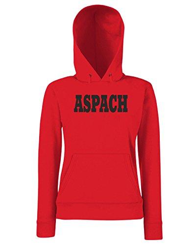 T-Shirtshock - Sweats a capuche Femme WC0802 ASPACH GERMANY CITY Rouge