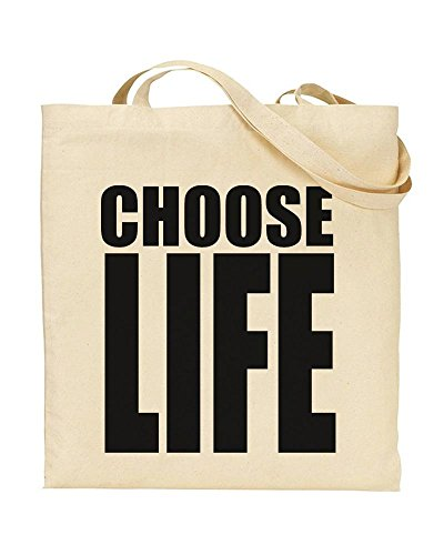 Choose Life Wham Reusable Tote Shopping Bag